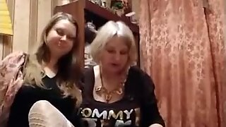 Real Mother and daughter     prostitute team from Russia