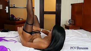 Jasmine Caro dressing up for our Blowjob Date