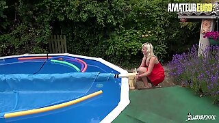 AmateurEuro - Sexy Big Ass MILF Anal Pounded By Her Gardener